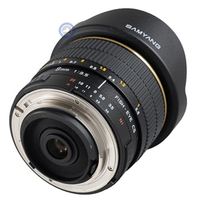 Falcon 8mm f/3.5 Aspherical ED MC